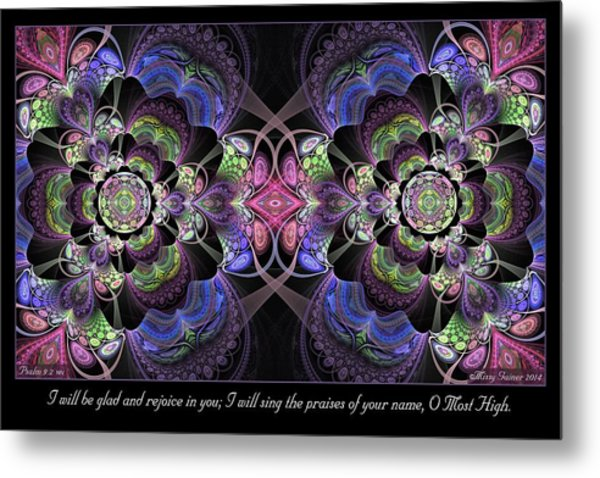 Rejoice In You Metal Print