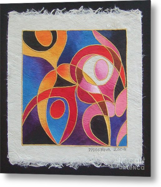 Reki I - Dance For Joy Metal Print