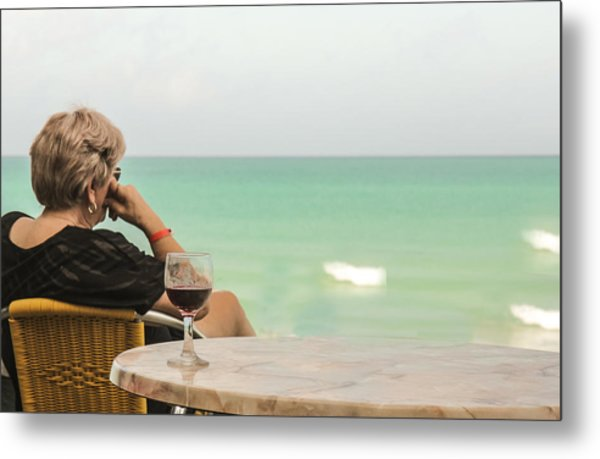 Relax And Enjoy The View Metal Print