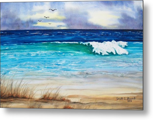 Relax Metal Print by Jeanette Stewart