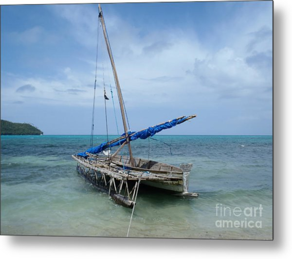 Relaxing After Sail Trip Metal Print