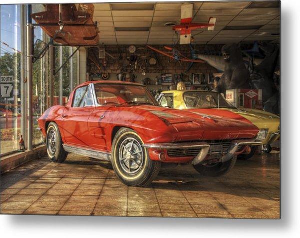 Relics Of History - Corvette - Elvis - Nehi Metal Print