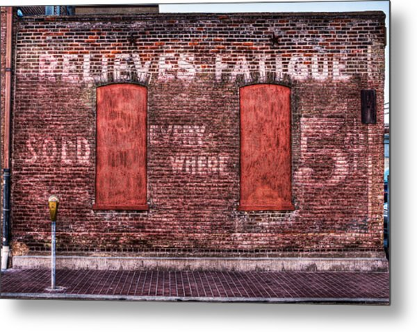 Relieves Fatigue  Metal Print