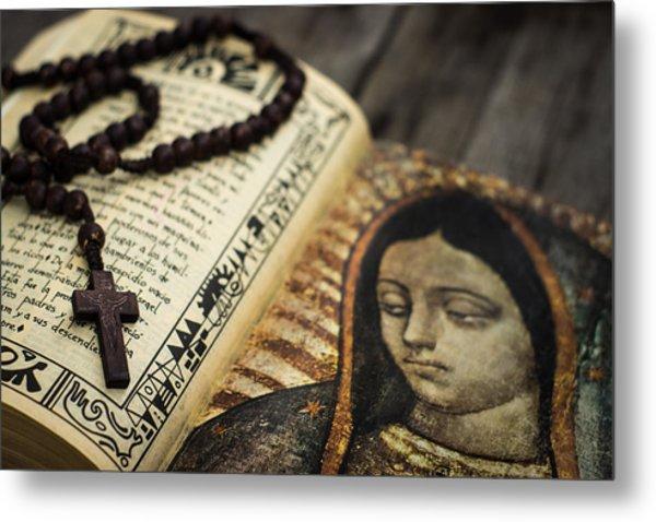 Religious Concept Metal Print