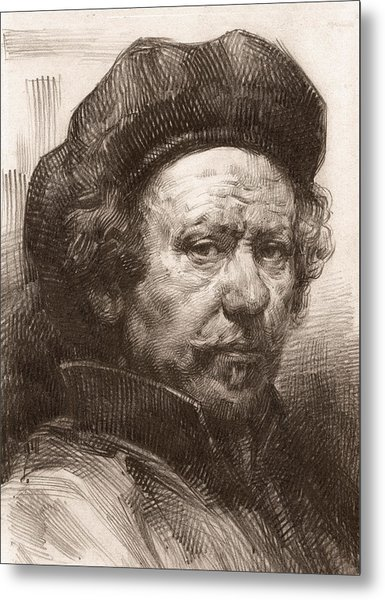 Rembrandt Portrait 1 Metal Print