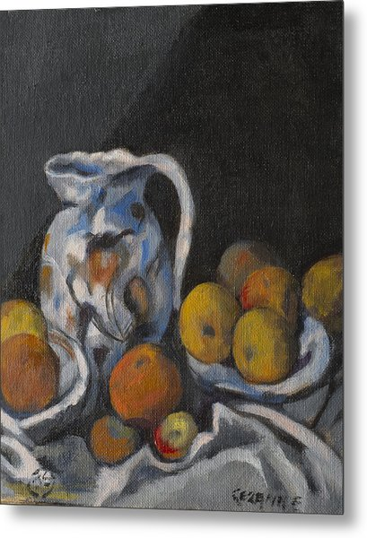 Remembering Cezanne Metal Print