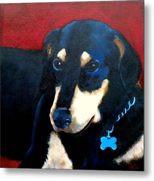 Remembering Doby Metal Print