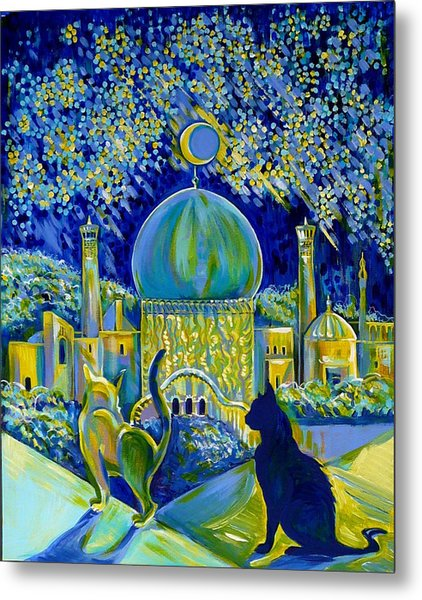 Reminiscences Of Asia. Bed Time Story Metal Print