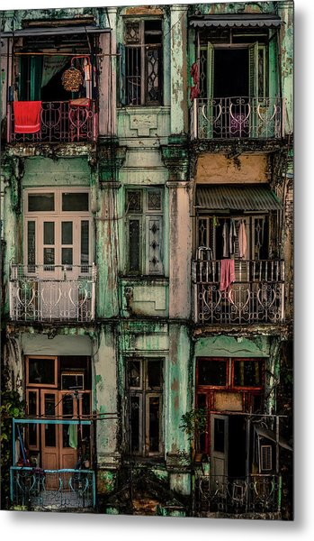 Remnants Of Another Era Metal Print by Marcus Blok