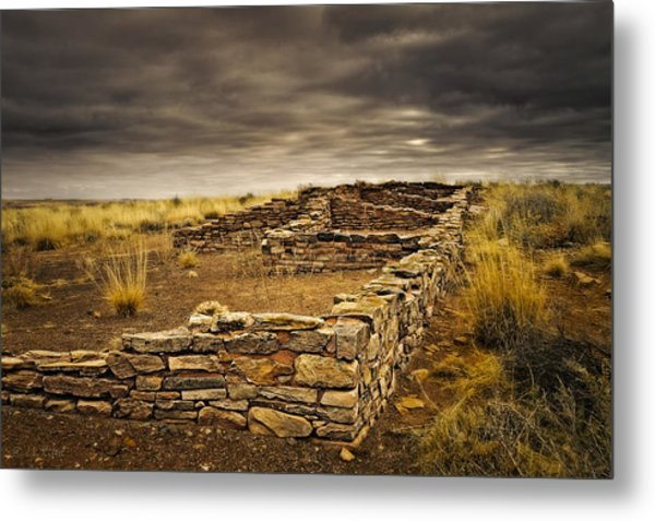 Remnants Of Long Ago Metal Print by Medicine Tree Studios