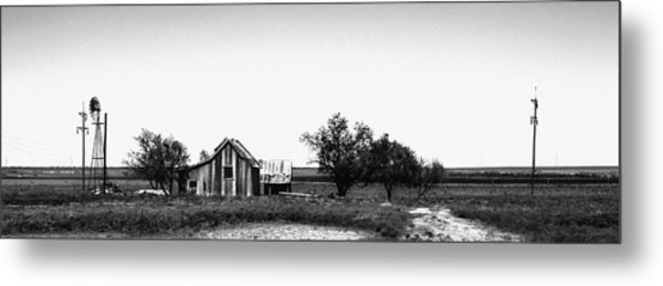 Remnants Of The Dust Bowl Metal Print