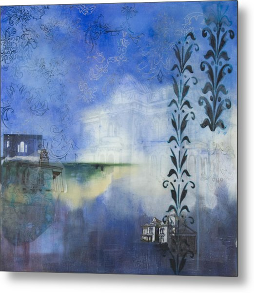 Remnants Of The Vanished Metal Print by Stacey Sherman