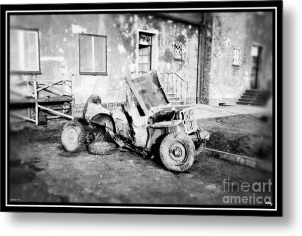 Remnants Of War Metal Print