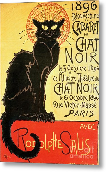 Reopening Of The Chat Noir Cabaret Metal Print