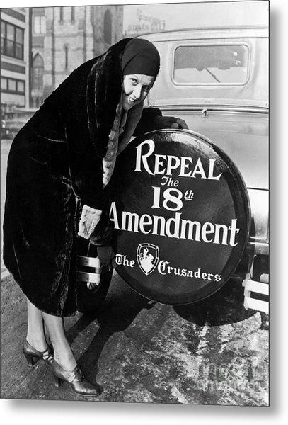 Repeal The 18th Amendment Metal Print