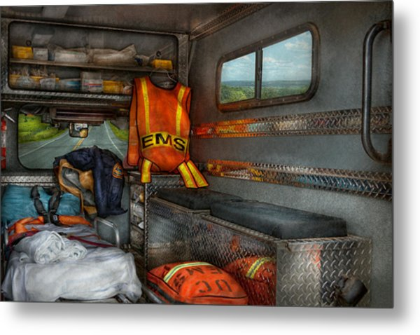 Rescue - Emergency Squad  Metal Print