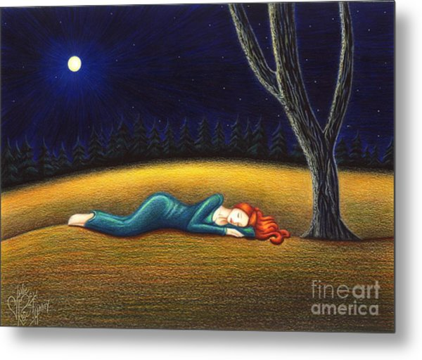 Rest For A Weary Heart Metal Print