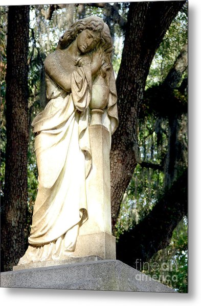 Restful Guardian Metal Print
