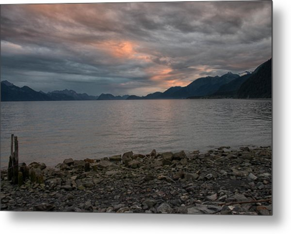 Resurrection Bay Metal Print