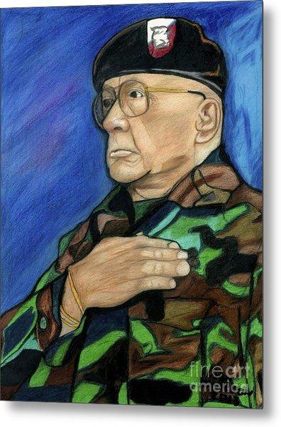 Ret Command Sgt Major Kittleson Metal Print