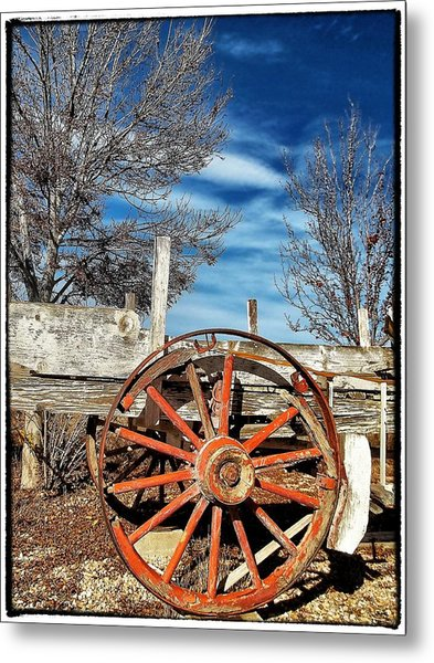 Retirement Blues - U S 395 California Metal Print