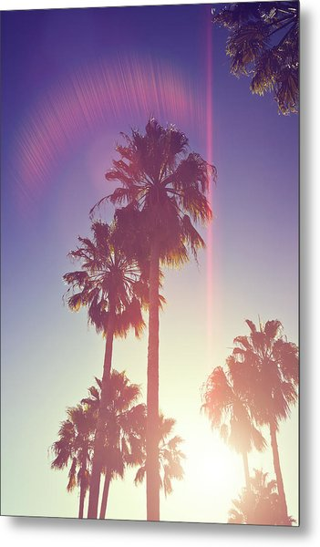 Retro Summer Metal Print
