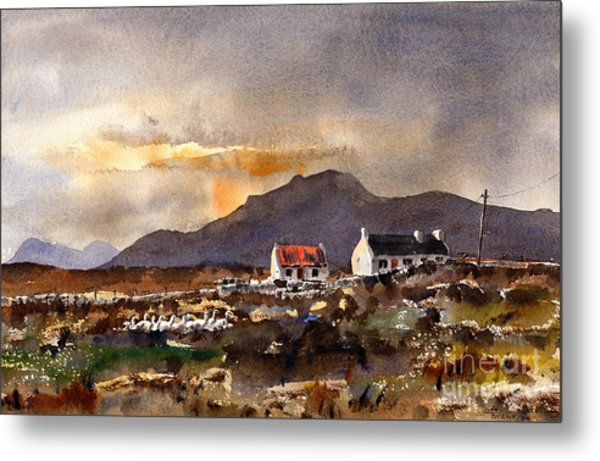 Returning Home In Achill Metal Print