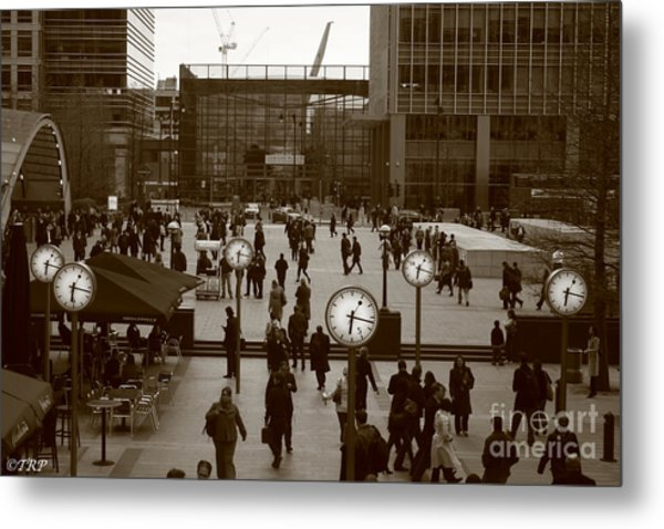 Reuters Plaza  Metal Print by Size X