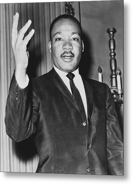 Rev. Martin Luther King Metal Print