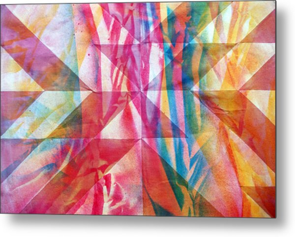 Rhythm And Flow Metal Print