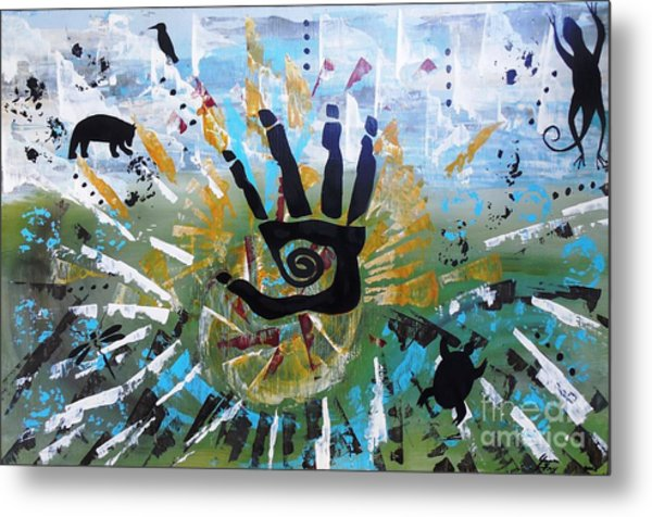 Rhythm Of Life Metal Print