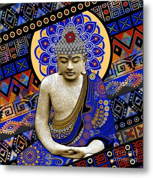 Rhythm Of My Mind Metal Print