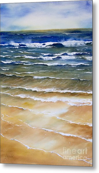 Rhythmic Calm Metal Print