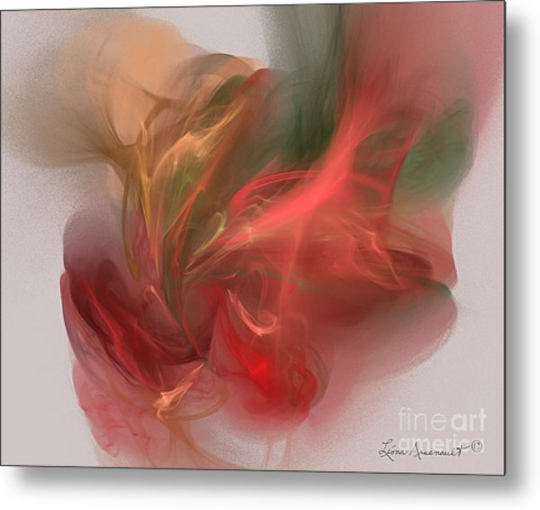 Rhythmical Dance Metal Print by Leona Arsenault