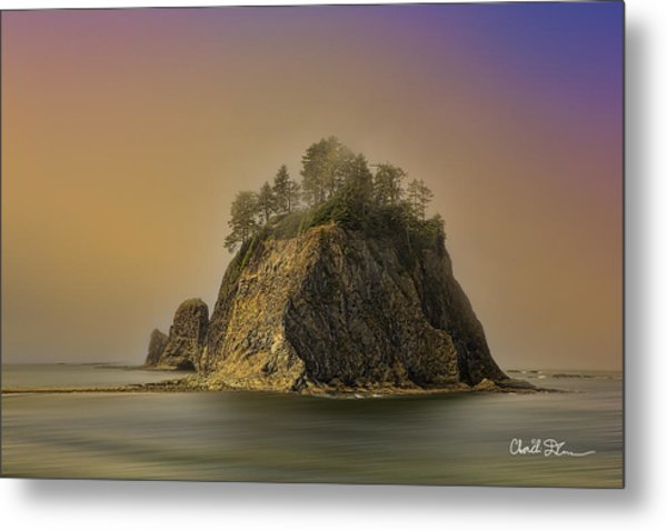 Rialto Beach - Little James Island Metal Print