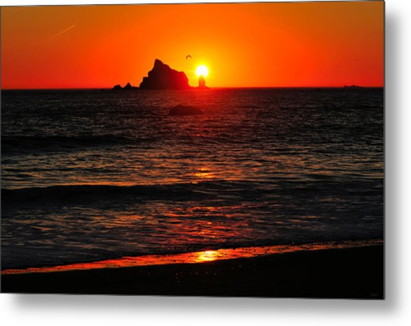 Rialto Beach Sunset Metal Print