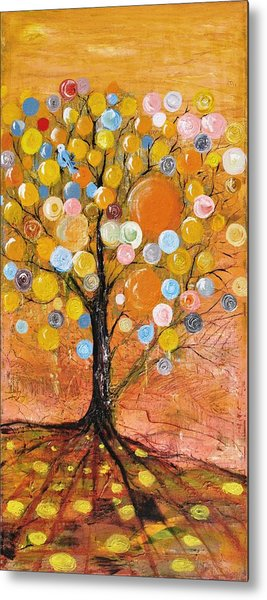 Rich Tree Metal Print by Evelina Popilian