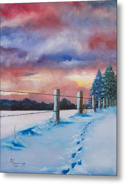 Rich Wintertide Metal Print