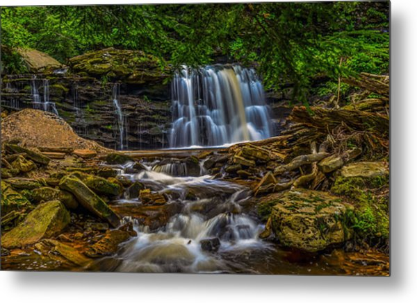 Ricketts Glen Metal Print