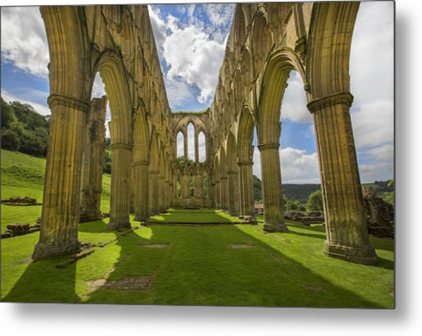Rievaulx Abbey Metal Print