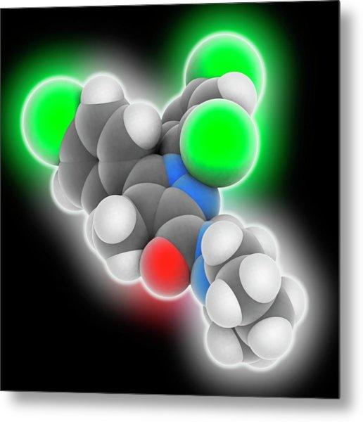 Rimonabant Drug Molecule Photograph by Laguna Design