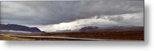Ring Road Iceland Metal Print by Dirk Ercken