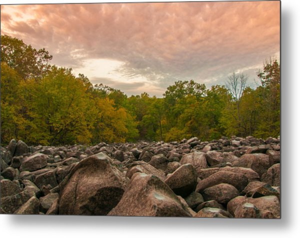 Ringing Rock Metal Print