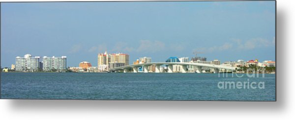 Ringling Bridge Metal Print