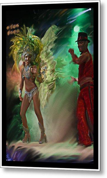 Rio Dancer II B  Metal Print