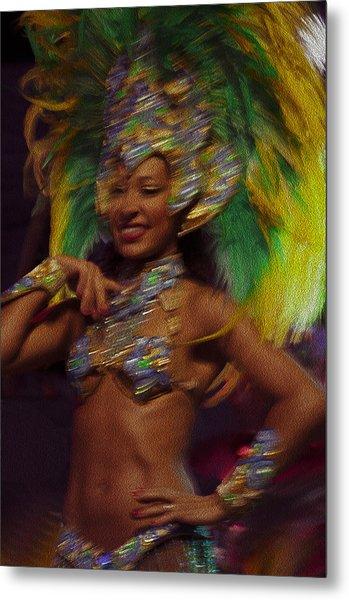 Rio Dancer IIi A Metal Print