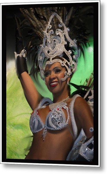 Rio Dancer Iv B Metal Print