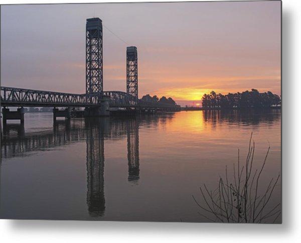 Rio Vista Bridge Metal Print