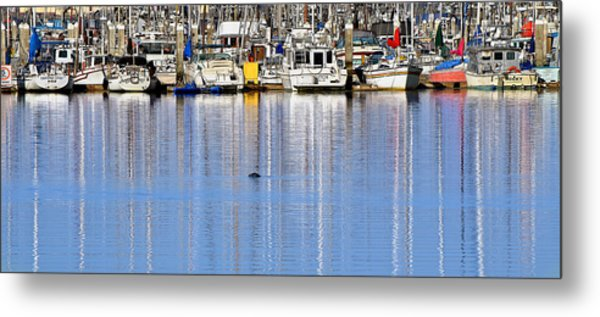 Ripple And Churn Metal Print