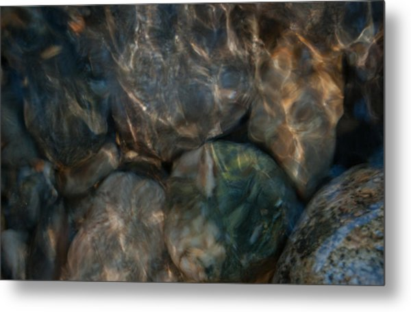 Rippled By The Light Metal Print